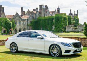 Mercedes S Class Wedding Car Kent, London And Essex