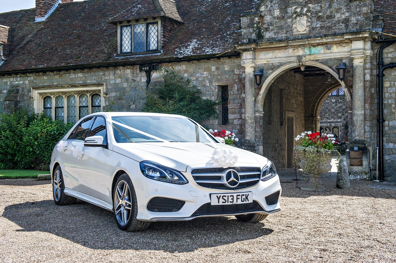 E Class Mercedes Benz Wedding Car Hire Kent London and Essex
