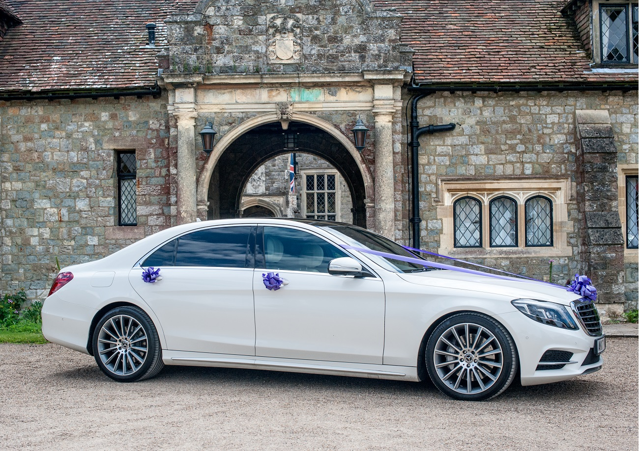 S Class Mercedes Benz Wedding Car Hire Kent London and Essex