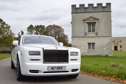 Rolls Royce Phantom Chauffeur Service London