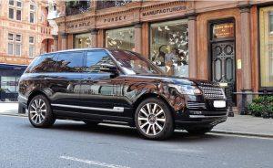 Range Rover Chauffeur Service