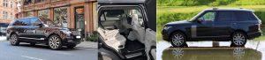 Range Rover Chauffeur Slide