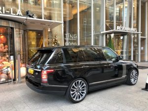 Range Rover Shard (1)