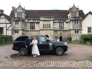 Range Rover Wedding