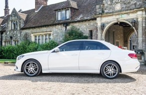 Mercedes Benz E Class Chauffeur Driven Wedding Car Kent London And Essex