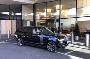 Range Rover Chauffeur in Kent