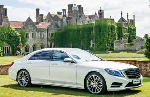 S Class Mercedes Chauffeur in Kent