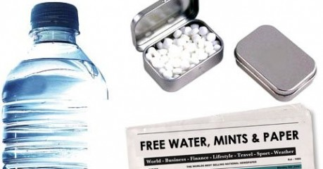 WATER, MINTS & DAILY NEWSPAPER INC. FREE WITH ALL OF OUR AIRPORT TRANSFERS